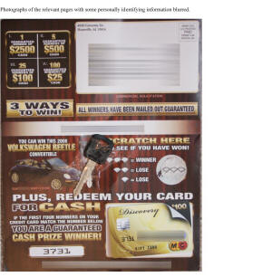 Auto Dealer Jeep Dealership foul up key scratch card contest prize.jpg